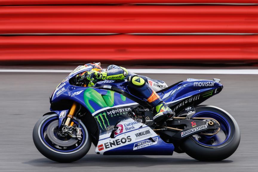 Valentino Rossi, Movistar Yamaha MotoGP, British Q2
