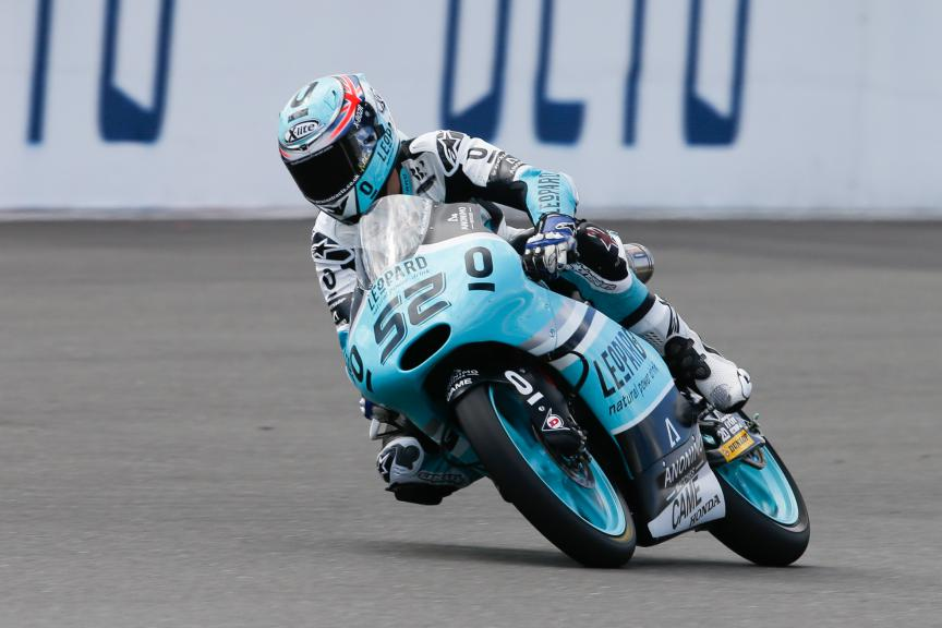 Danny Kent, Leopard Racing, British GP QP