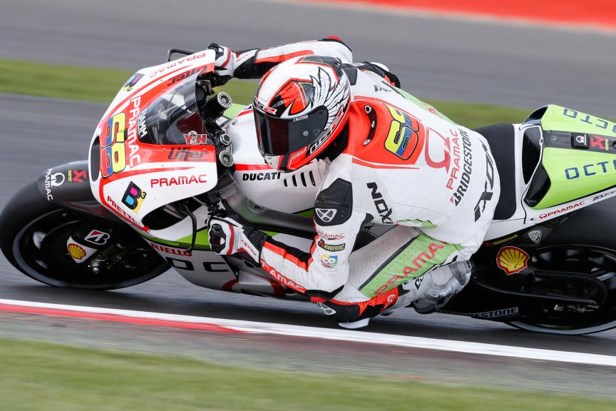 Yonny Hernandez, Octo Pramac Racing, British GP Q1