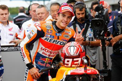 """Marquez: """"Diese Pole ist wichtig"""""""
