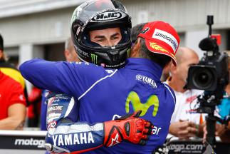 "Lorenzo: ""I'm very proud of my two laps"""
