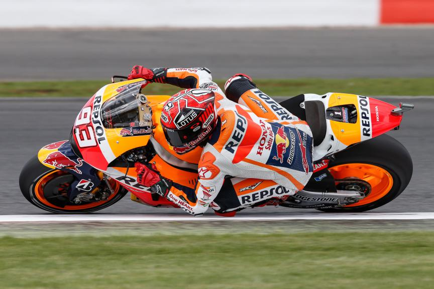 Marc Marquez, Repsol Honda Team, British GP FP4