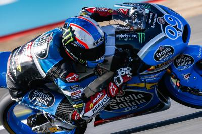 Navarro takes maiden Moto3™ pole