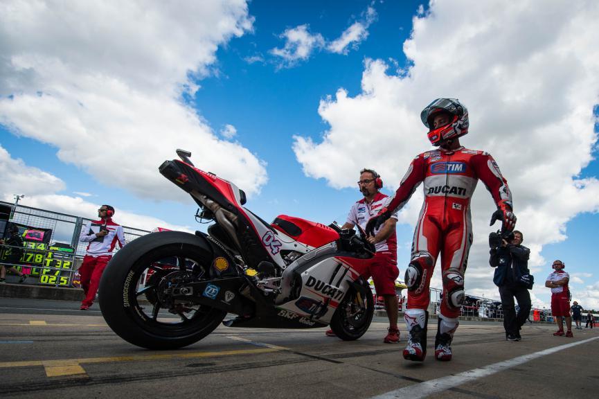 Andrea Dovizioso, Ducati Team, British GP  © 2015 Scott Jones, PHOTO.GP