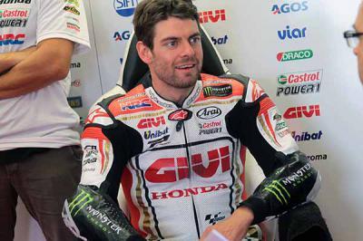 "Crutchlow: ""It was my fastest lap around Silverstone"""