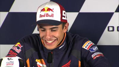 Marquez: 'So Lorenzo, what did you learn?'