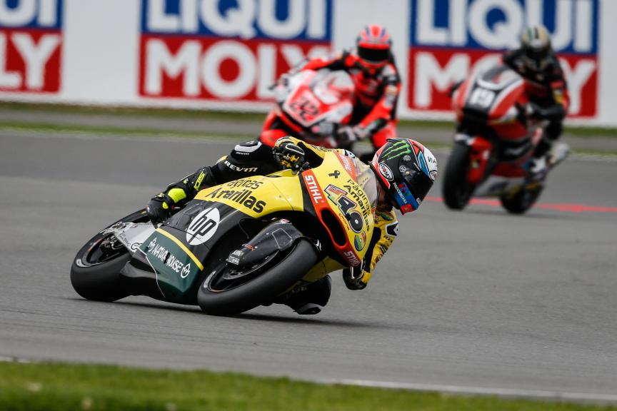 Moto2 Action, British GP