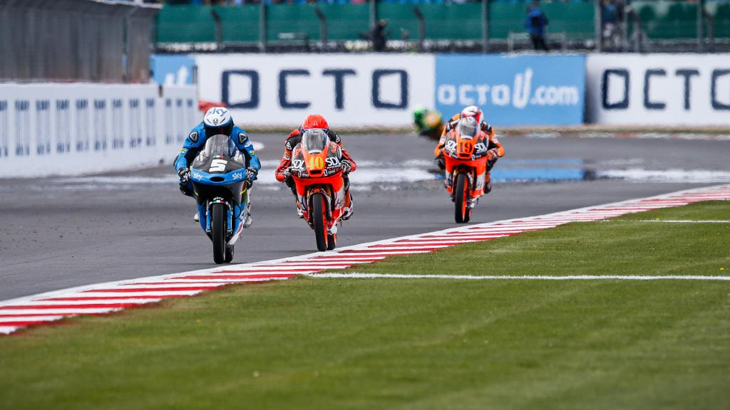Moto3 Action, British GP