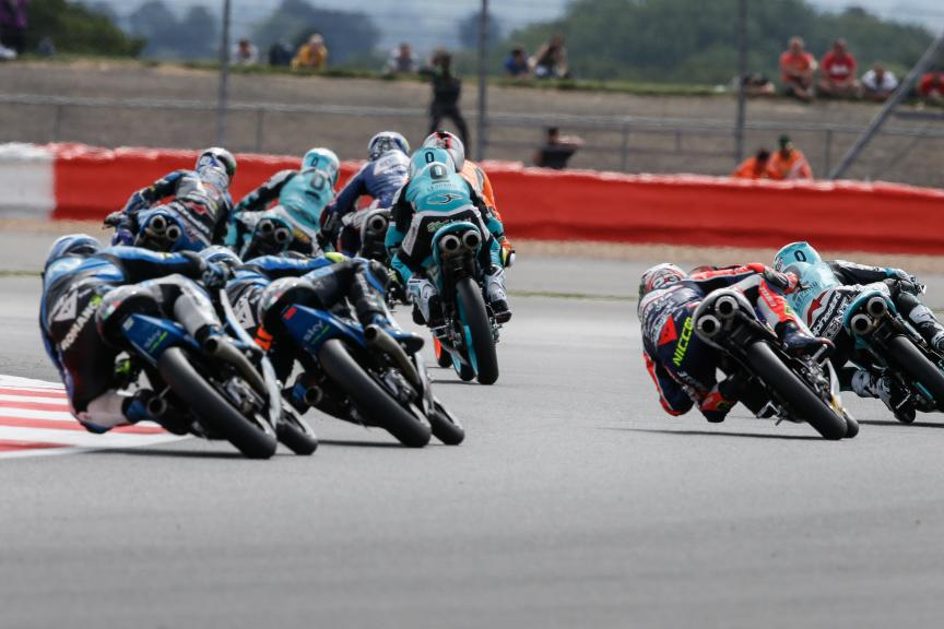 Moto3 Action British GP