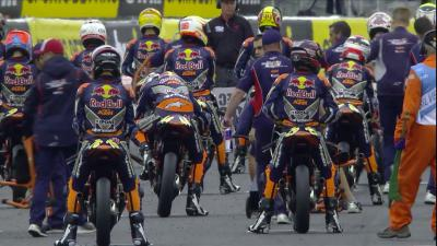 Red Bull Rookies Cup Silverstone - Race 1