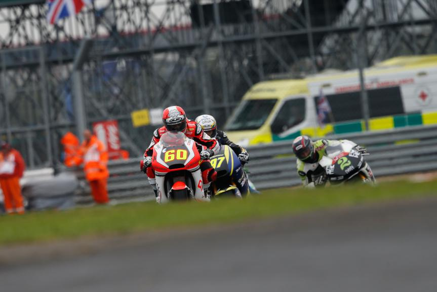 Moto2 Action British GP RACE
