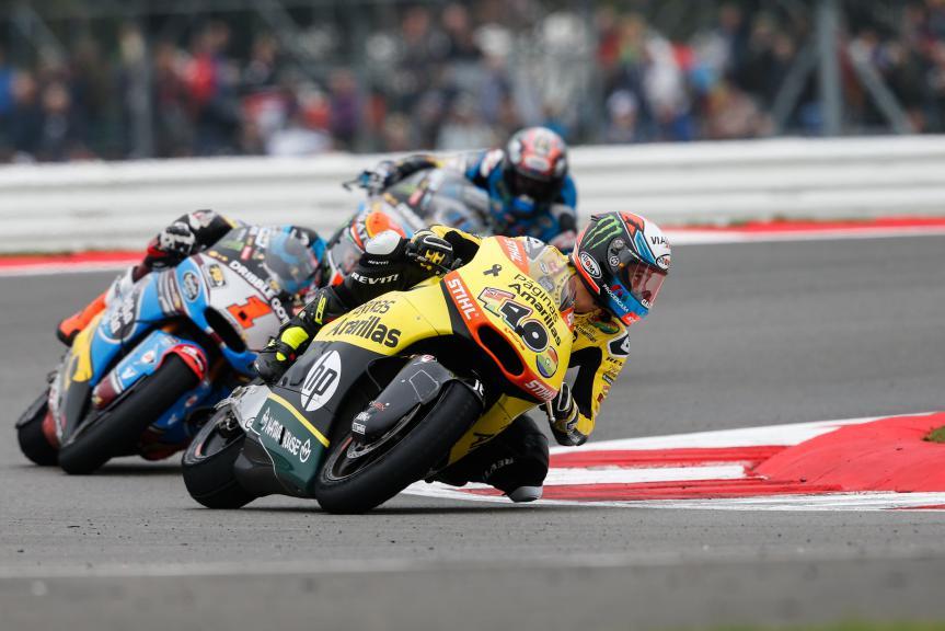 Moto2 Action British GP RACE