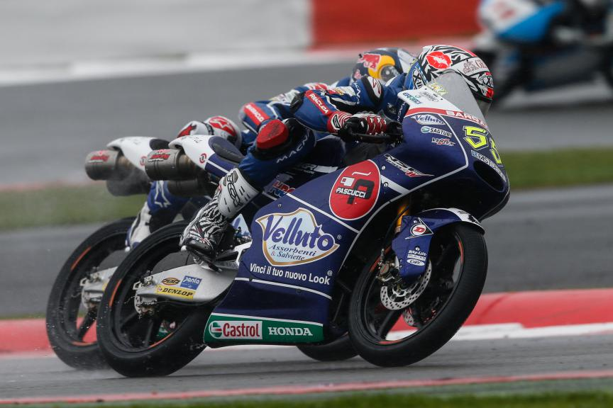 Moto3 Action British GP RACE