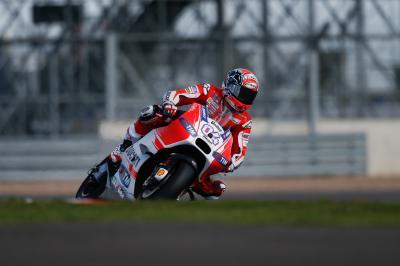 Dovizioso retrouve le podium en Angleterre