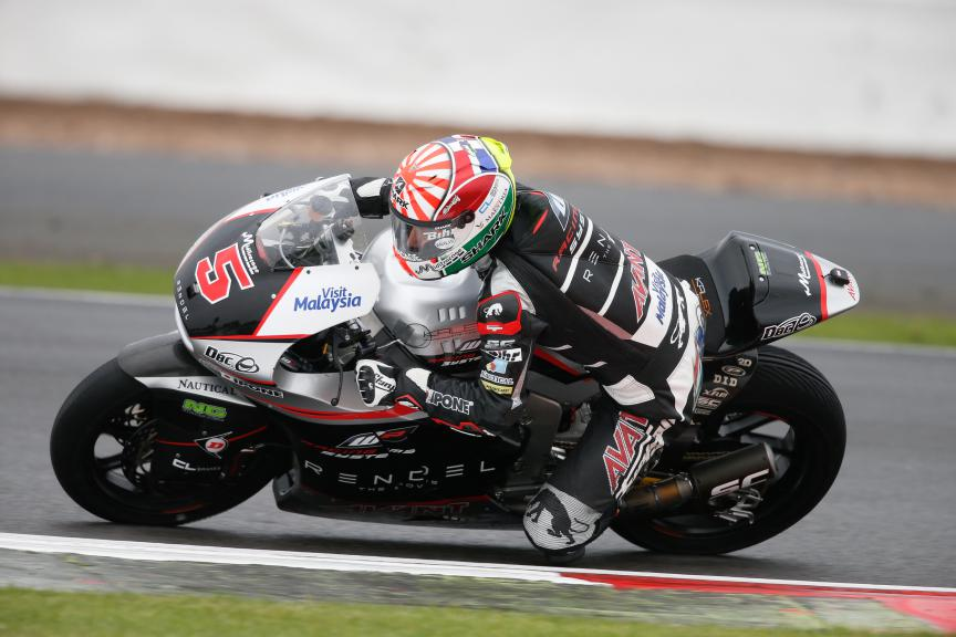 Johann Zarco, Ajo Motorsport, British GP RACE