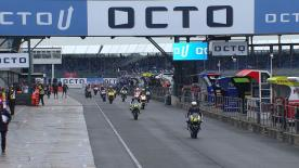 The full Warm Up session for the Moto2™ World Championship at the British GP.