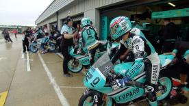 The full Warm Up session for the Moto3™ World Championship at the British GP.