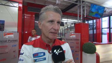Ciabatti: 'Wir sind glücklich, Scott in der Ducati-Famillie zu begrüßen.'