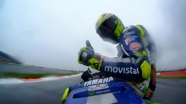 Rossi reprend la main avec un premier succès à Silverstone