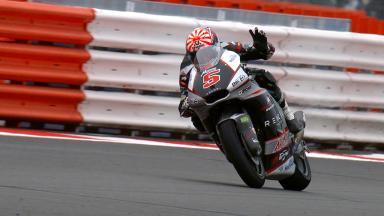 Victoria de Zarco en el GP OCTO de Gran Bretaña de Moto2™