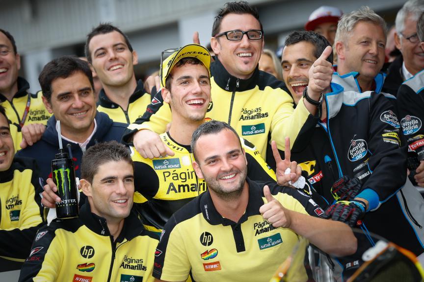 Alex Rins, Paginas Amarillas Hp 40, British GP RACE