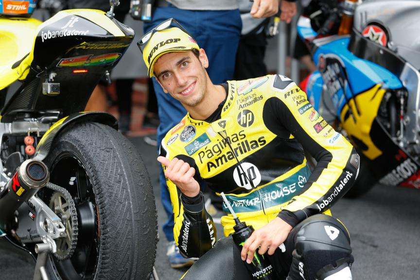 Alex Rins, Paginas Amarillas Hp 40, British GP RACE