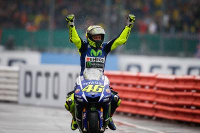 Rossi espugna Silverstone