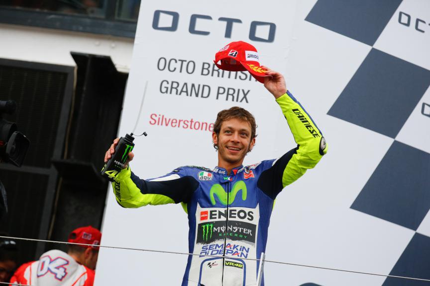 Valentino Rossi, Movistar Yamaha MotoGP, British GP RACE