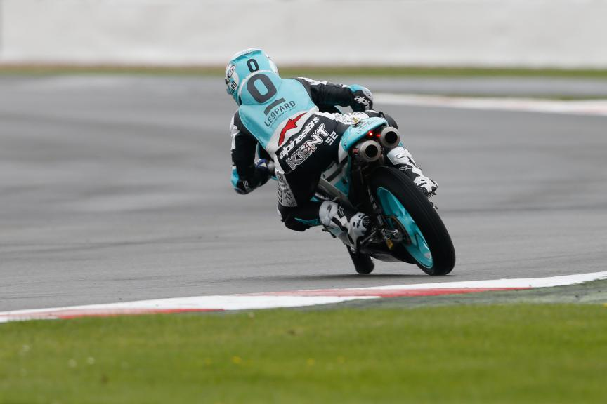 Danny Kent, Leopard Racing, British GP WUP