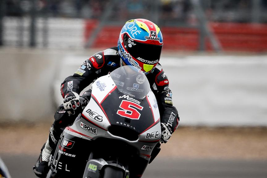 Johann Zarco, Ajo Motorsport, British GP