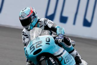 Kent sets the pace in morning Moto3™ warm up