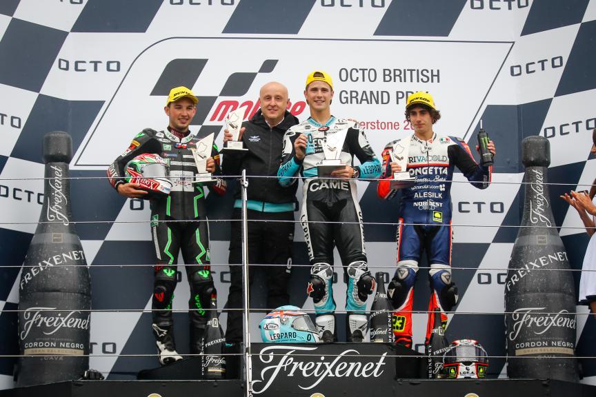 Kornfeil, Kent, Antonelli, Drive M7 SIC, Leopard Racing, Ongetta-Rivacold, British GP RACE