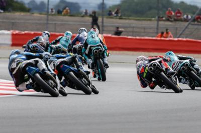 Moto3™ race guide for the British GP