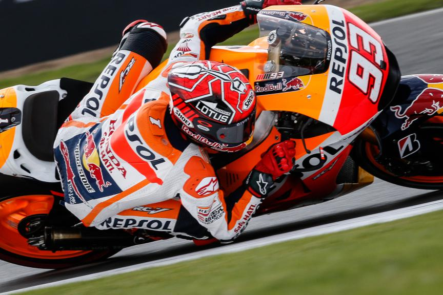 Marc Marquez, Repsol Honda Team, British GP WUP