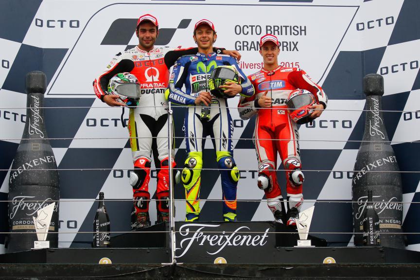 MotoGP Podim British GP