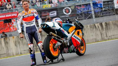 Doohan: «La edad de Rossi no es la cuestión»