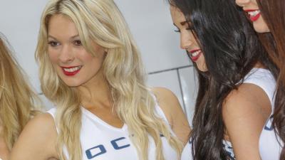 Las chicas del paddock en el #BritishGP