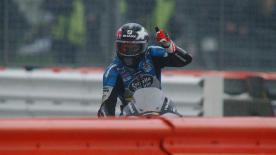 Redding foi 6º em Silverstone, vencendo entre os pilotos da casa e garantindo o melhor resultado da época.