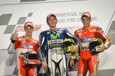 Italian Riders enjoying a great year in MotoGP™