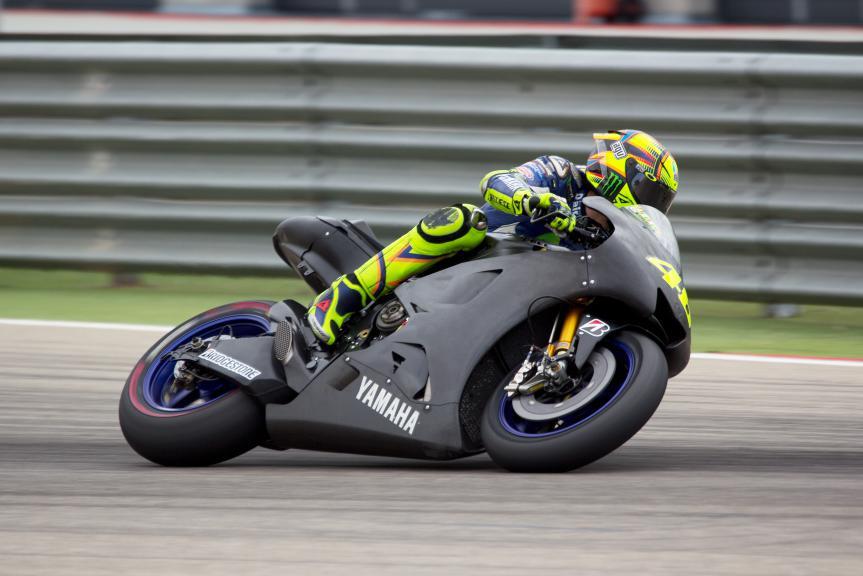 Valentino Rossi, Movistar Yamaha MotoGP, Aragon Test