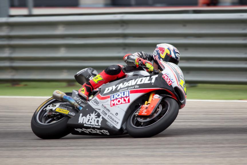 Sandro Cortese, Dynavolt Intact GP, Aragon Test @ Max Kroiss