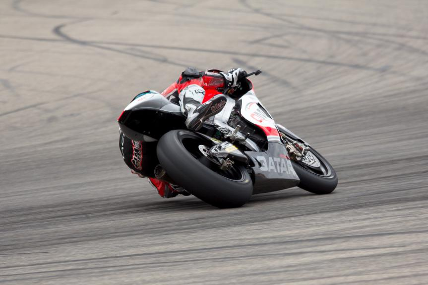 Julian Simon, QMMF Racing Team, Aragon Test @ Max Kroiss