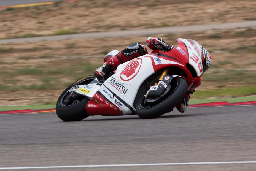 Takaaki Nakagami, Idemitsu Honda Team Asia, Aragon Test © Max Kroiss