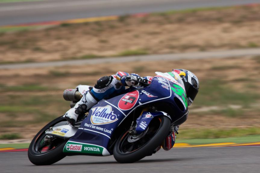 Enea Bastianini, Gresini Racing Team Moto3, Aragon Test © Max Kroiss