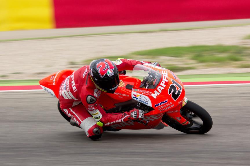 Francesco Bagnaia, MAPFRE MAHINDRA Aspar Team, Aragon Test © Max Kroiss
