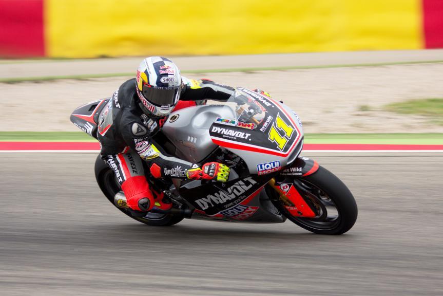 Sandro Cortese, Dynavolt Intact GP, Aragon Test © Max Kroiss