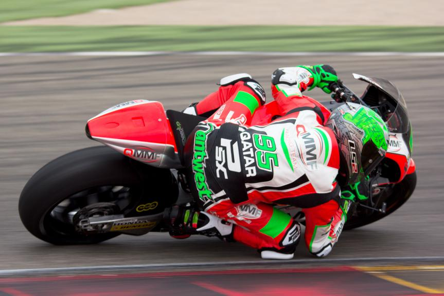 Anthony West, QMMF Racing Team, Aragon Test © Max Kroiss