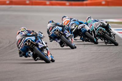 Fight for top three tightens in Moto3™