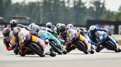 How many current Moto3™ riders have won at Misano before?