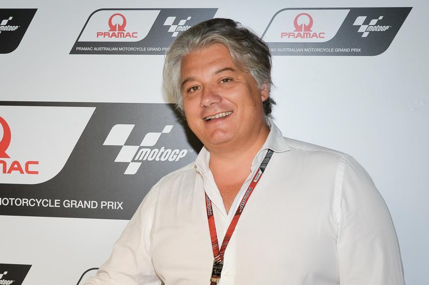 Pramac CEO Paolo Campinoti,